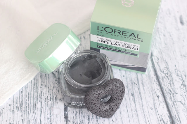 photo-l'oreal-paris-arcillas_puras-mascarilla-facial-detox-negra-#efectodetox