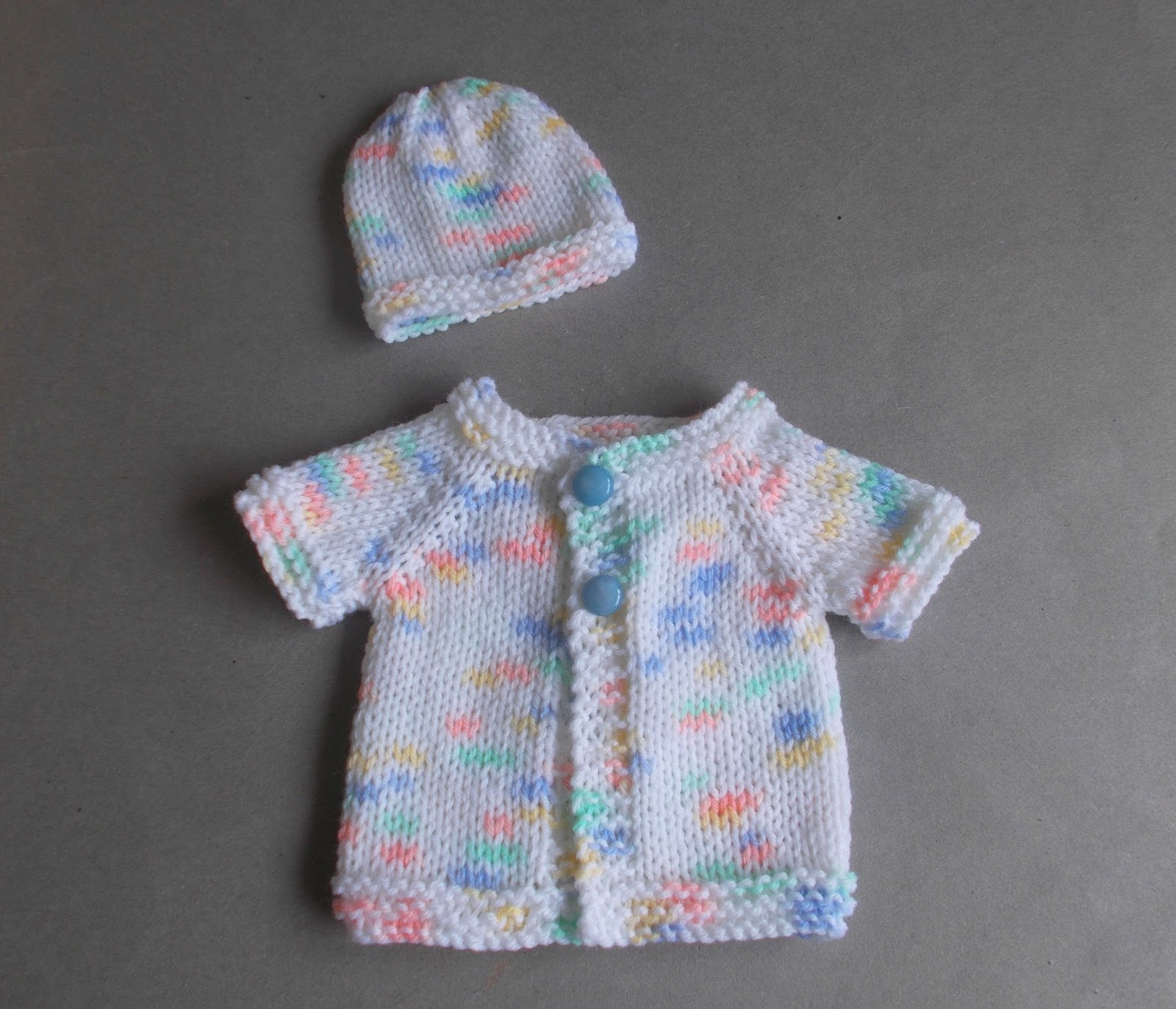 Knitting For Charity Premature Babies : Marianna s lazy daisy days topaz premature baby cardi