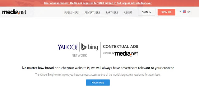 Media.Net ad network