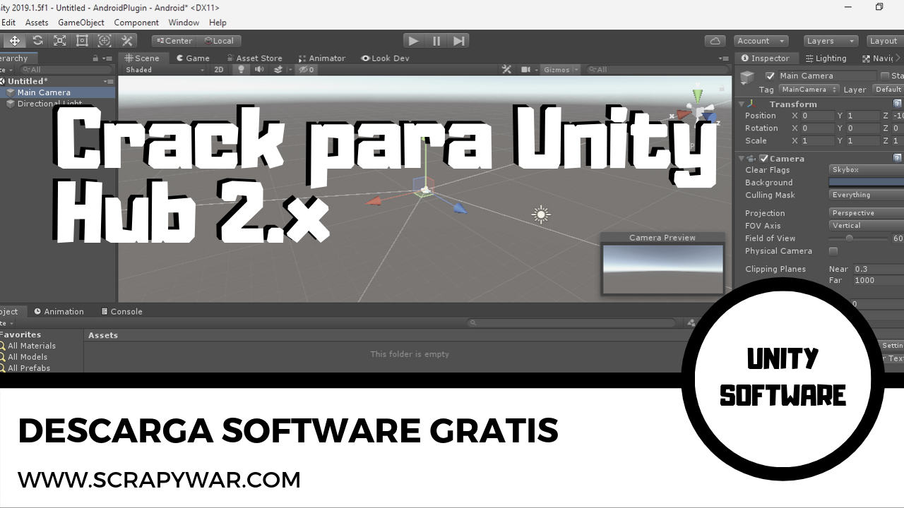 Unity Hub 2.3.0 Crack | Patch for Windows