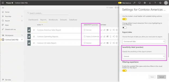 Announcing new data protection capabilities in Power BI