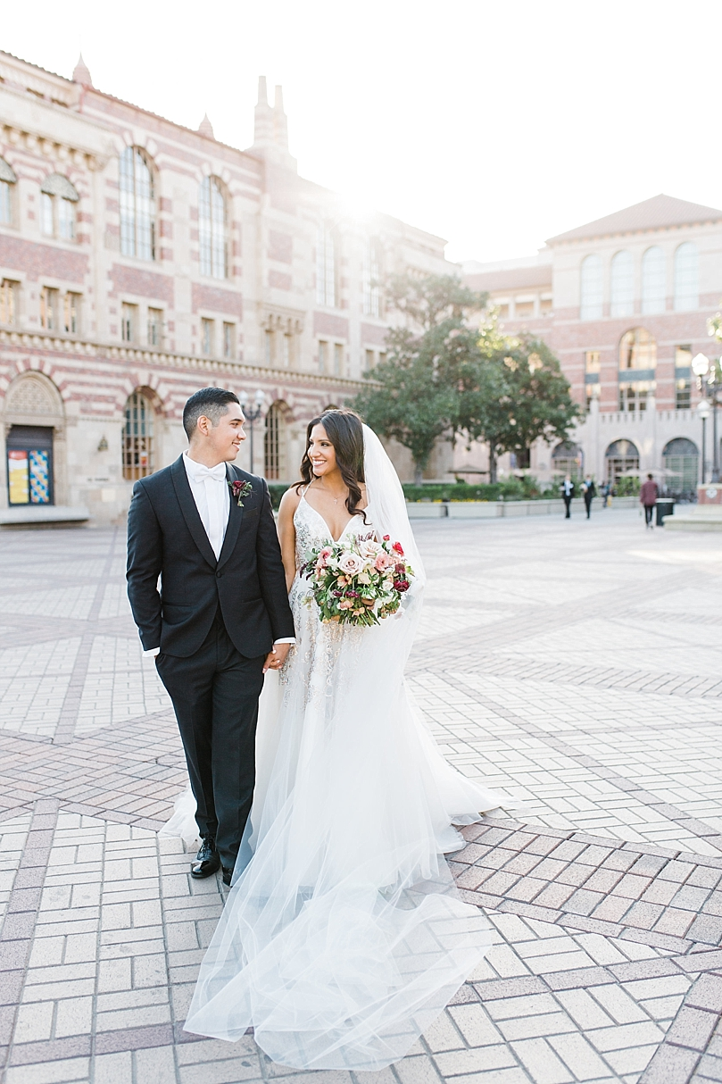 Bride & Groom gets married at their alma mater, USC! | Southern ...