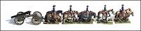 ACW39, Siege Cannon Limber w/ One Gun (USA & CSA)