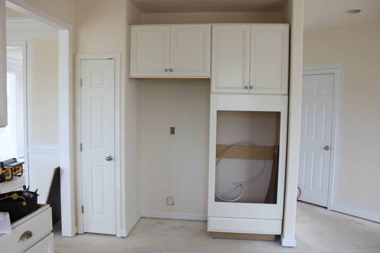 how to build appliances cabinet