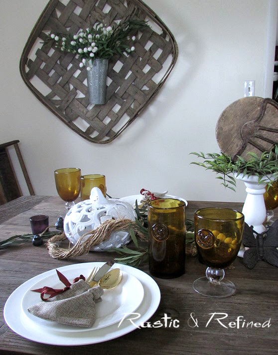 Farmhouse Autumn Table