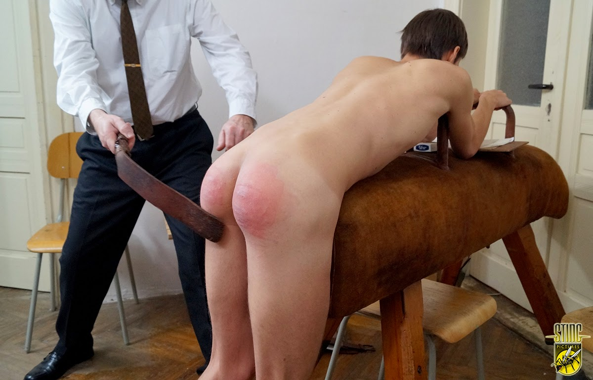 Naked boys spanked by gay teacher if you