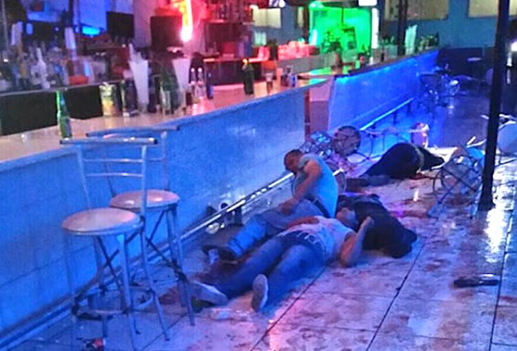 En el bar Chicho´s la sangre corrió, saldo de seis muertos y 21 heridos