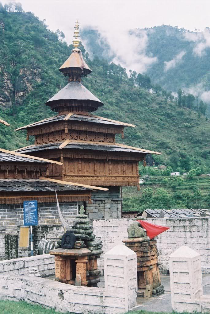 Villages and towns of Uttaranchal: Mahasu Temple, Hanol ...