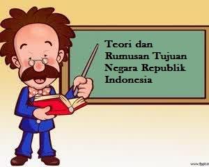 Teori dan Rumusan Tujuan Negara Republik Indonesia