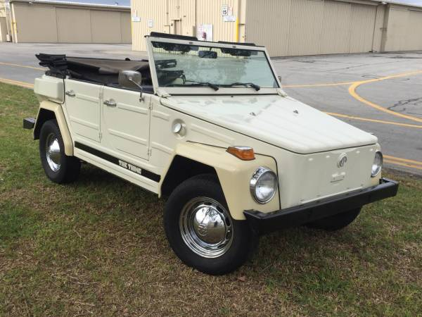 1973 VW Thing For Sale In Great Condition - Buy Classic Volks