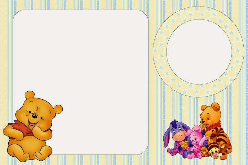 winnie the pooh baby free printable