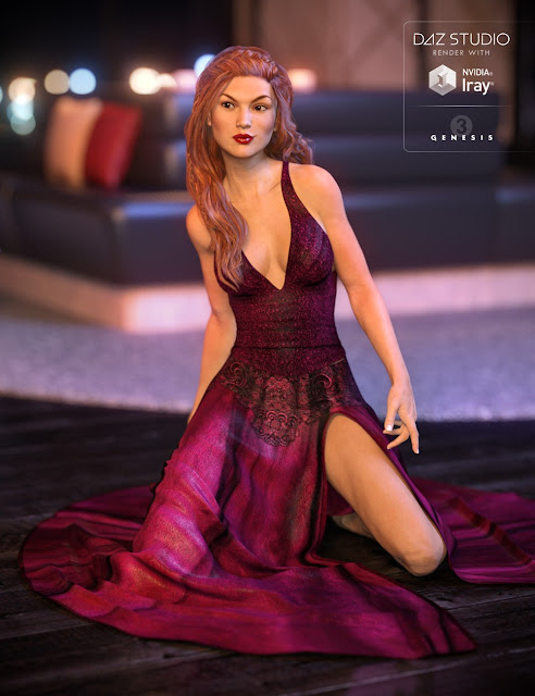 Glamour Outfit for Genesis 3 Female
