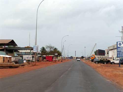 Port-Gentil, Gabon.