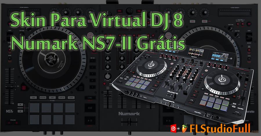 Skin Para Virtual DJ 8 Numark NS7-2 Grátis
