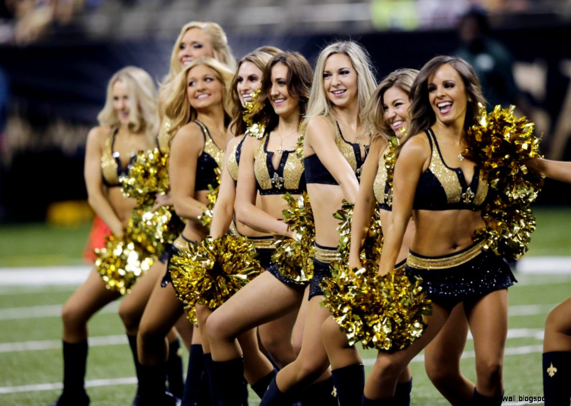 New Orleans Saints Cheerleaders Wallpaper