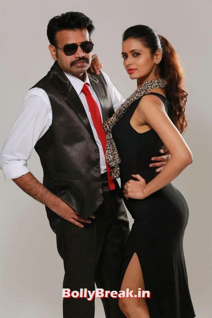 , Meenakshi Dixit Premji Amaran Takkar Movie Hot Stills