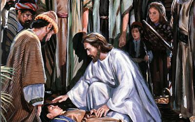 Resultado de imagem para jesus expulsa um espirito mudo