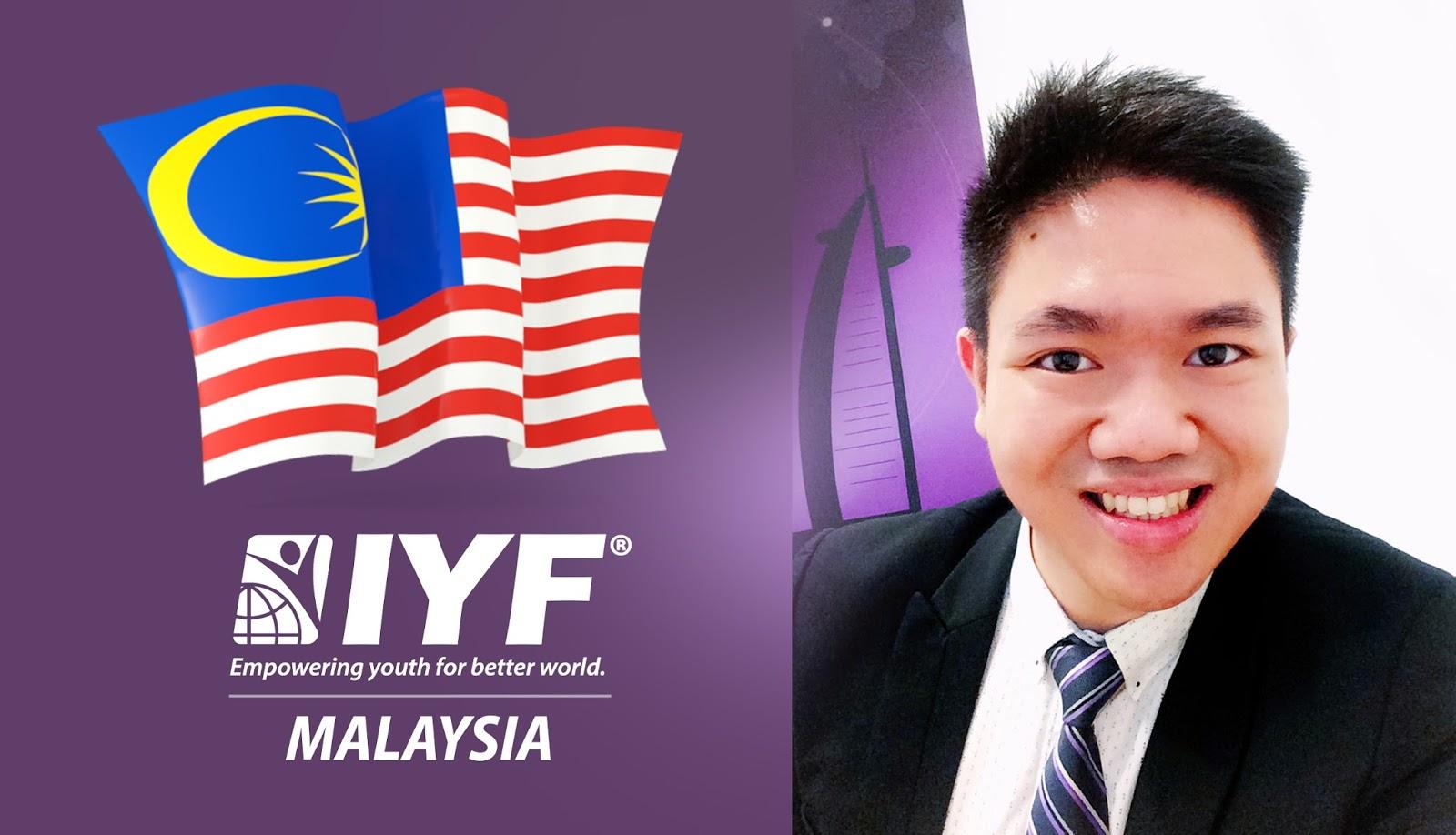 Immanuel Tan, IYF Representative in Malaysia