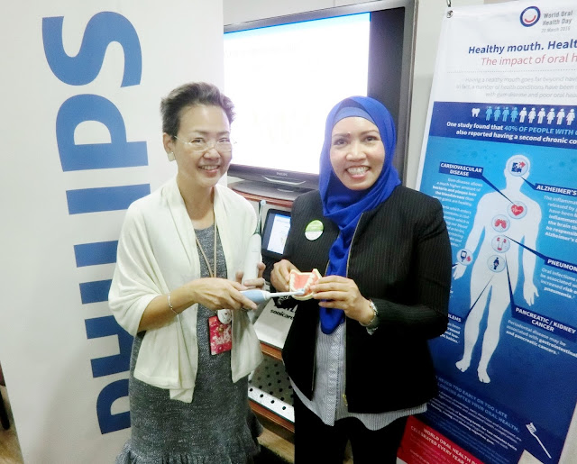 World Oral Health Day 2016 collaboration with philips and world dental federation (FDI)