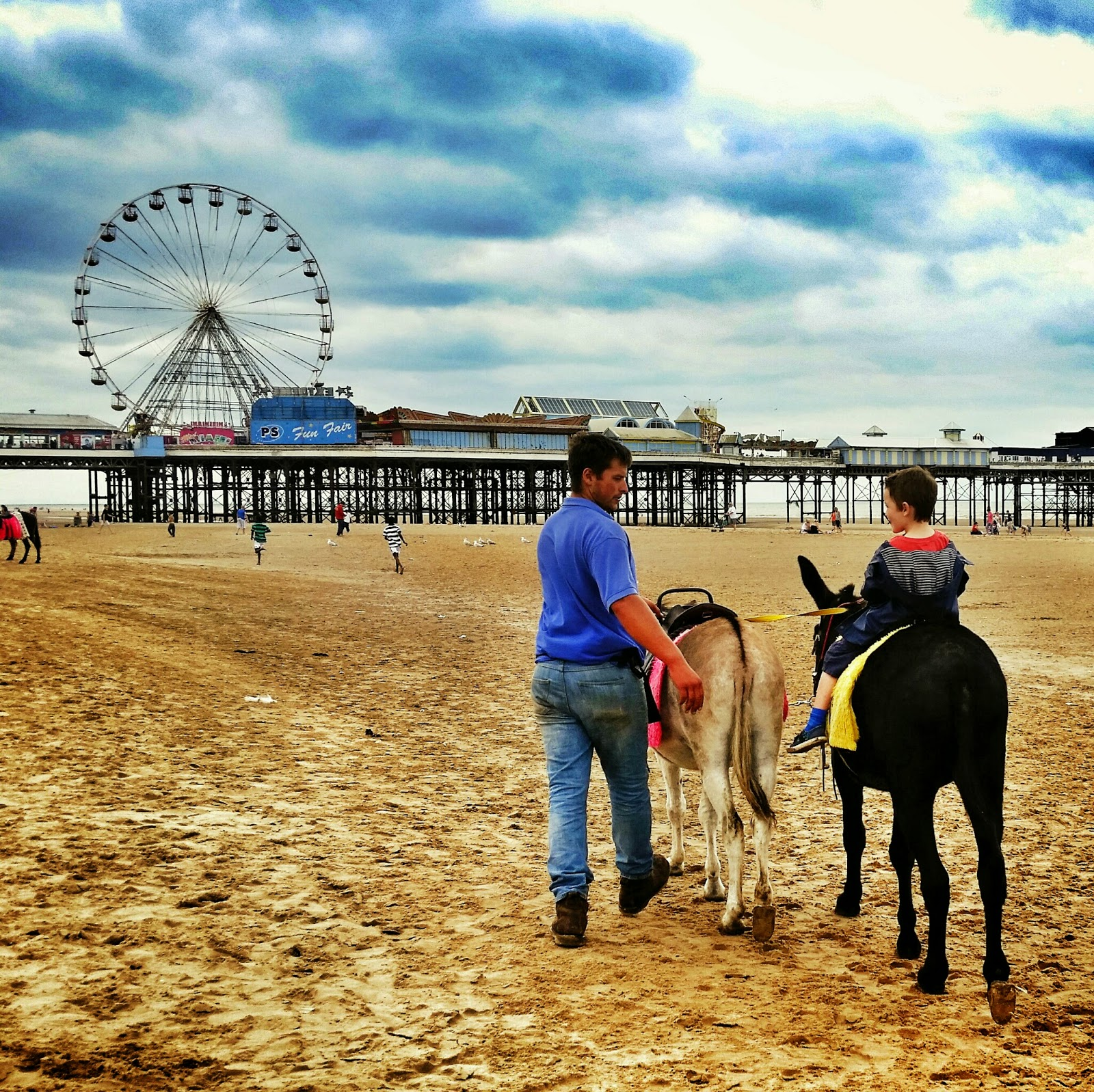 Blackpool donkey ride