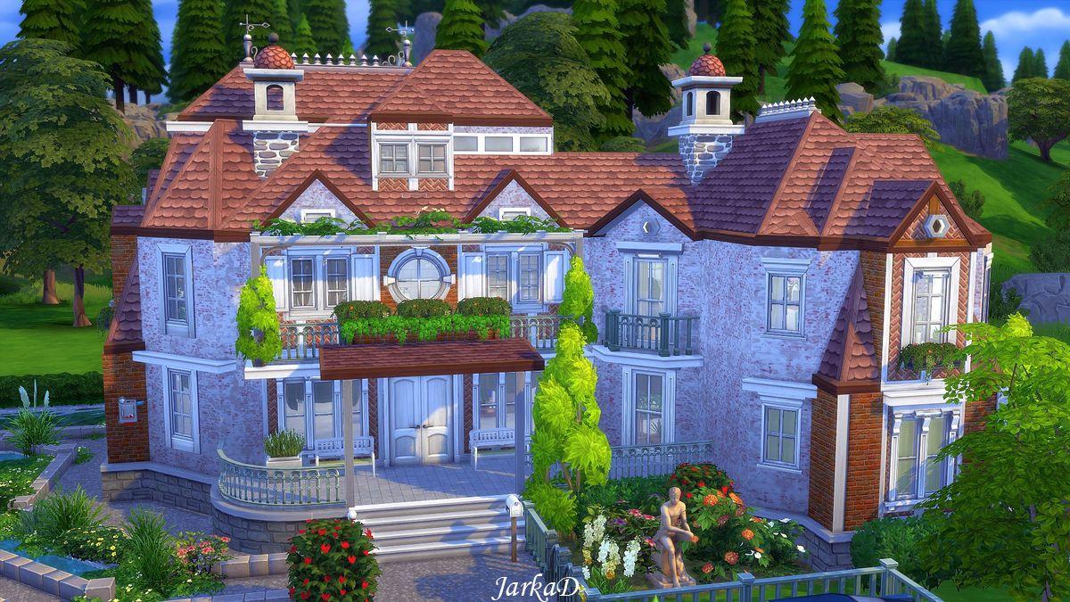 My Sims 4 Blog Suburban House No Cc By Jarkad