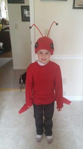 disfraz de hormiga roja