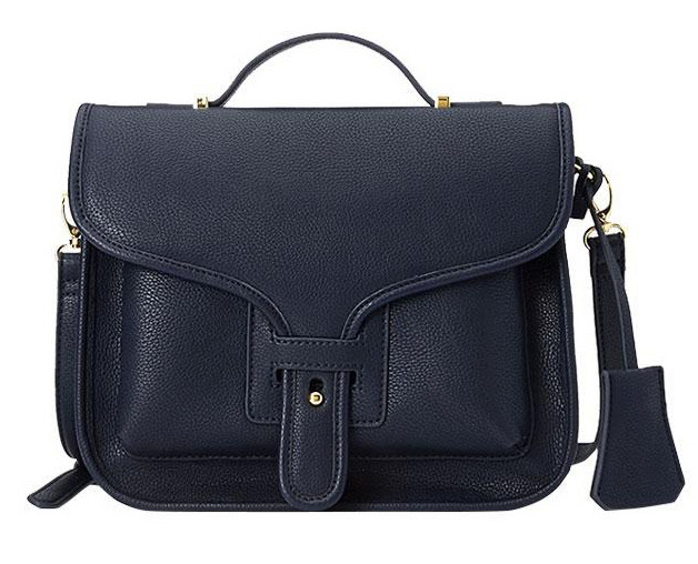 Forever+21+classic+faux+leather+satchel