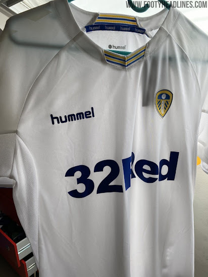 To Be Never Released Due To Adidas Deal Hummel Leeds United 20 21 Prototype Home Kit Leaked Footy Headlines