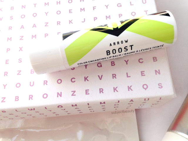 Arrow Boost March Birchbox 2016