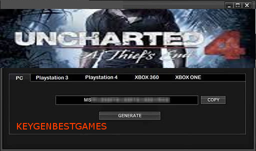uncharted 4 license key