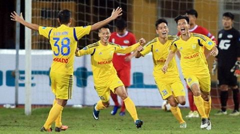 CLB Nam Định rất quyết tâm thi đấu để có kết quả tốt,
