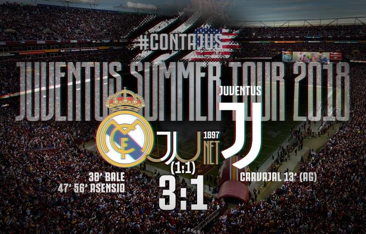Prijateljska utakmica / Real Madrid - Juventus 3:1 (1:1)