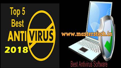 Top 5 Antivirus 2018