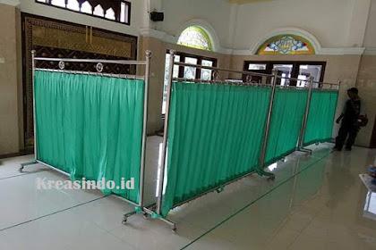 Jasa Hijab Masjid Stainless di Wonosobo dan Banjarnegara Jawa Tengah