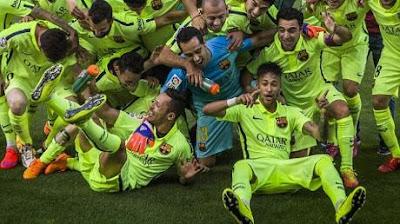 barcelona vẫn đang rất tự tiên