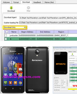 Lenovo A319 Firmware Download