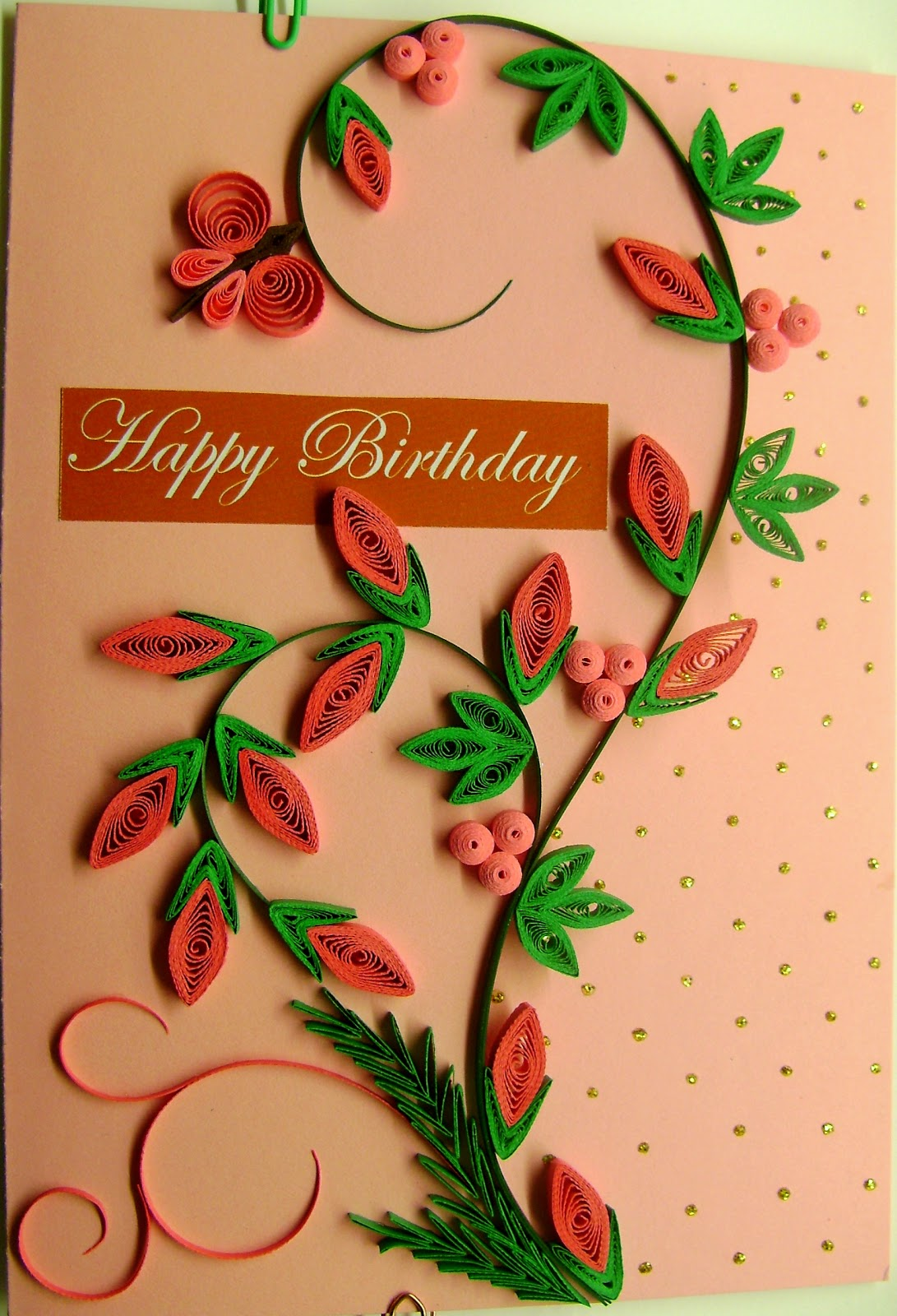 quilling me softly inky pinky winky  giveaway cards set