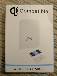 Qi Compatible Wireless Charger Pad & Galaxy S3 Receiver Coil Card Kit.