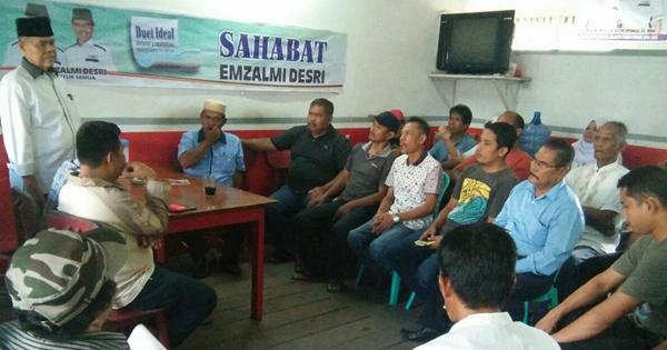 Emzalmi: Jika Ingin Perubahan, ya Datang ke TPS Pada 27 Juni 2018