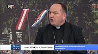 Biskup Mons. Petar Palić Tema dana HRT slike otok Brač Online