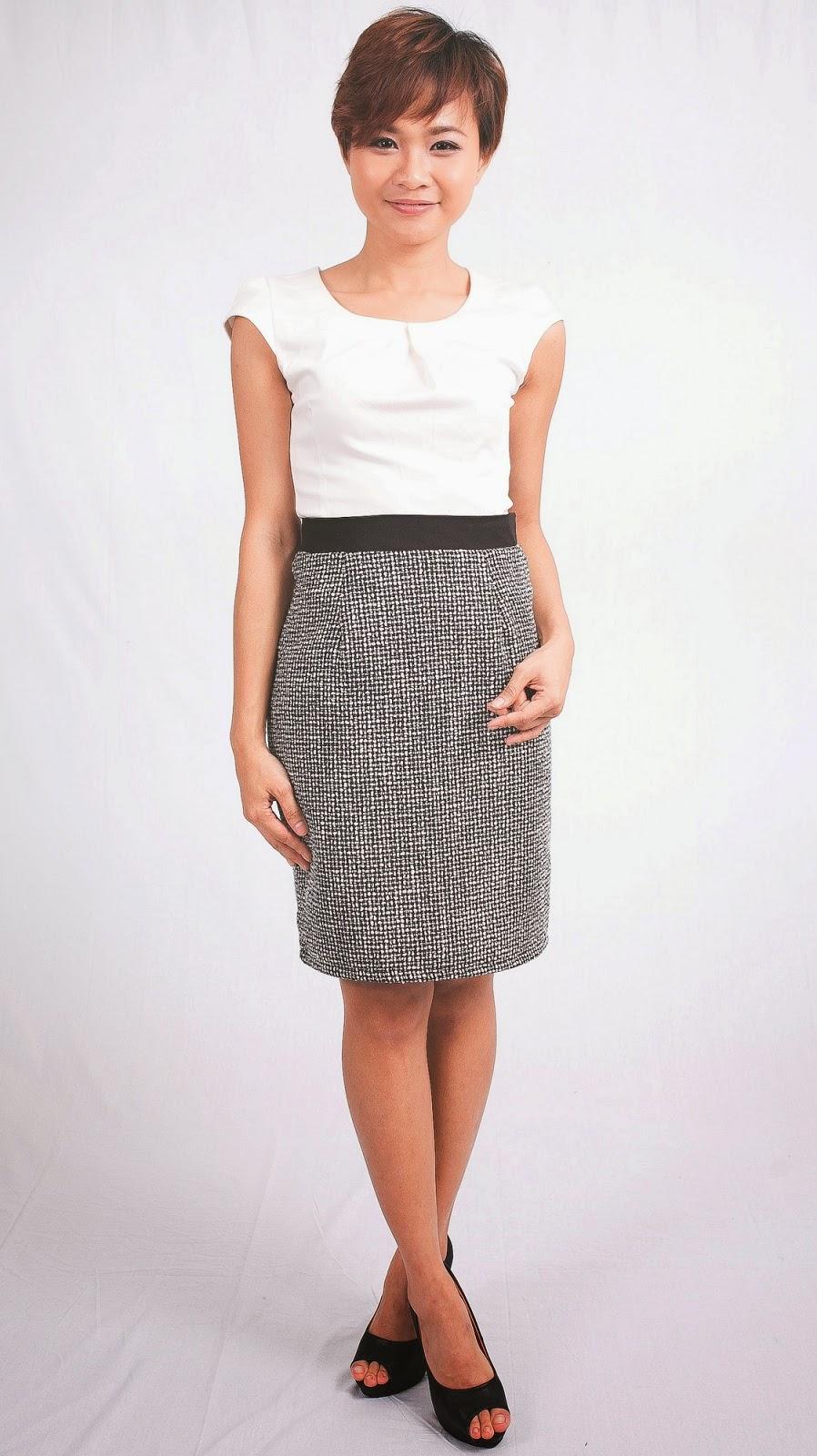 735bbc6c59 Whitesoot: Always Sparkle Pencil Skirt   Emcee Couture: Melinda Skirt    Peep: JyhLing Slit Midi Skirt   Twenty 3: Lavender Vantel Midi Skirt