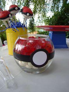 Resultado de imagem para festa decoração pokemon GO