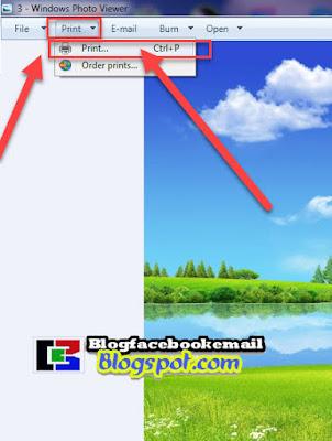 cara mencetak gambar sendiri di laptop dan pc