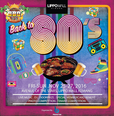 "Kemang BBQ Party Chapter 9, ""Back To 80's"""
