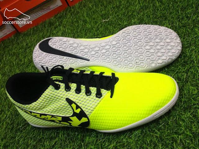 Nike Elastico Pro III IC Volt- Black- White 685360 701