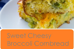 Sweet Cheesy Broccoli Cornbread Recipe