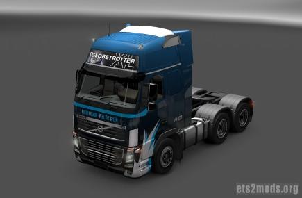 Blue & Black Volvo skin by xexaplex