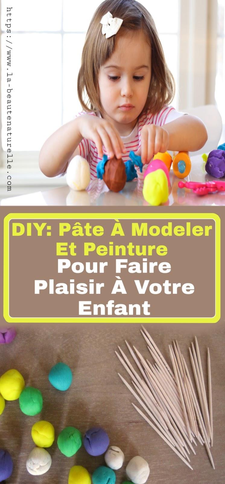 DIY: Pâte À Modeler Et Peinture Pour Faire Plaisir À Votre Enfant