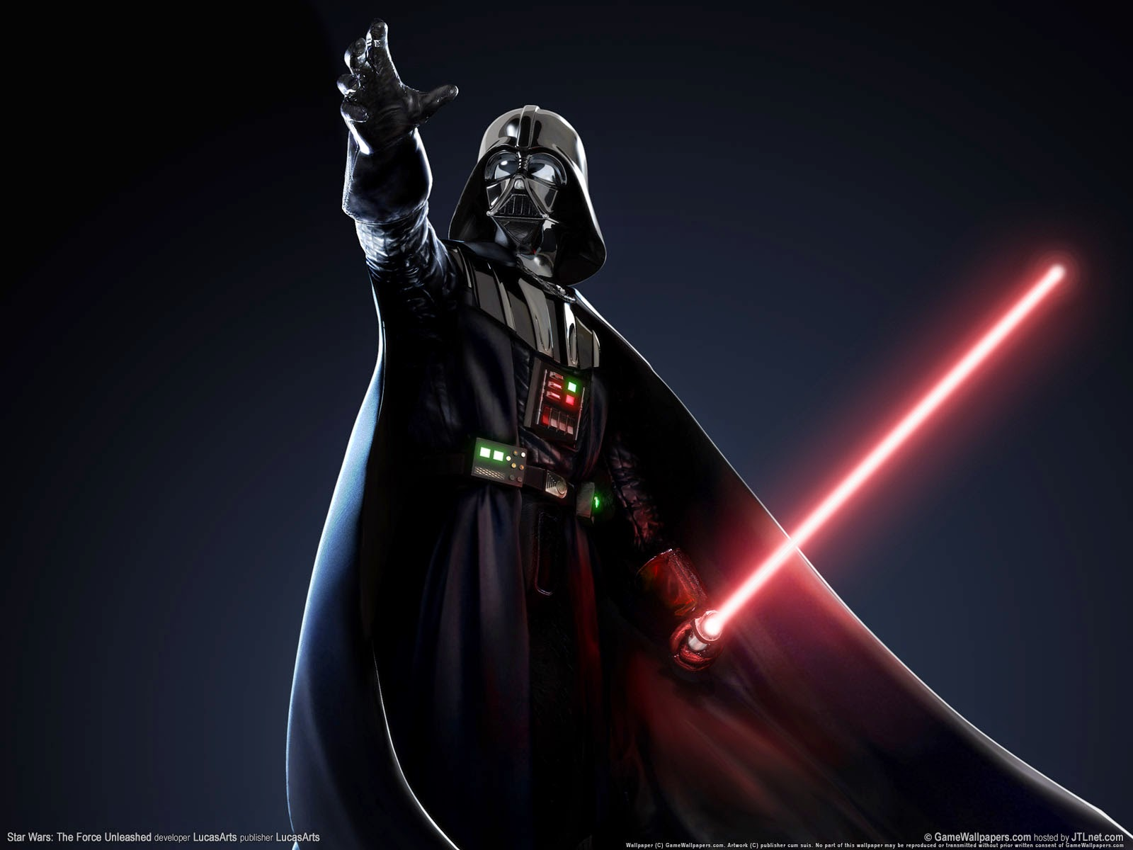 Star Wars The Force Unleashed 2 Wallpapers: Electronic Cerebrectomy: 2015-01-04