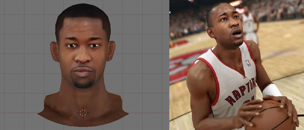 NBA 2K14 Terrence Ross Cyberface Patch